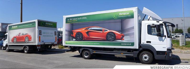 Europcar Autobeklebungen