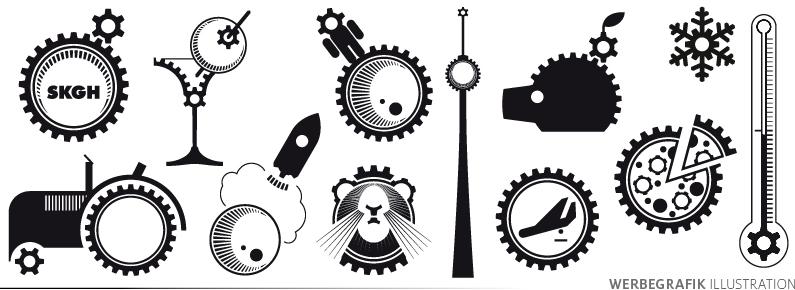 SKGH Logovariationen